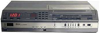 Videorecorder geschiedenis Philips video 2000 top model vr-2840
