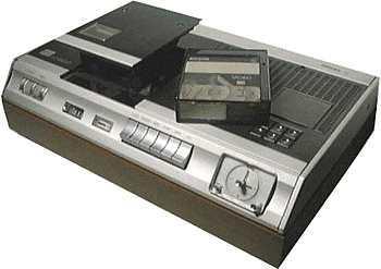 videorecorder geschiedenis Philips vcr 1500