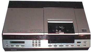 videorecorder geschiedenis Philips video 2000 video recorder