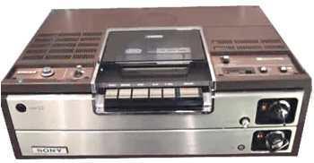 videorecorder geschiedenis Sony eerste betamax recorder