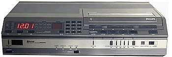Videorecorder geschiedenis Philips video 2000 top model vr-2840