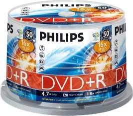 Philips dvd+r