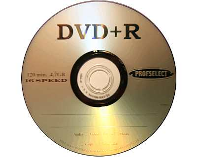 Lege dvd media professionele kwaliteit Profselect
